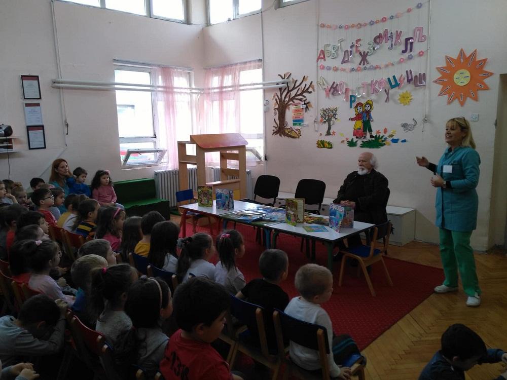 Средба со детски писател