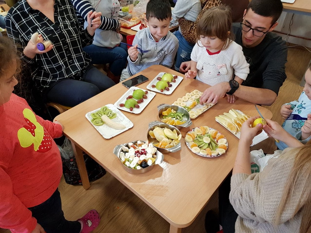 """Семејна креативна работилница """"Здрава храна за детство без мана"""" – објект Детелинка"""