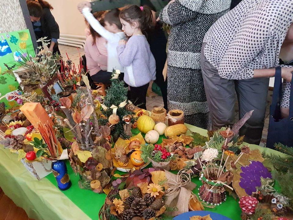 Есенска семејно креативна работилница – објект Пчелка