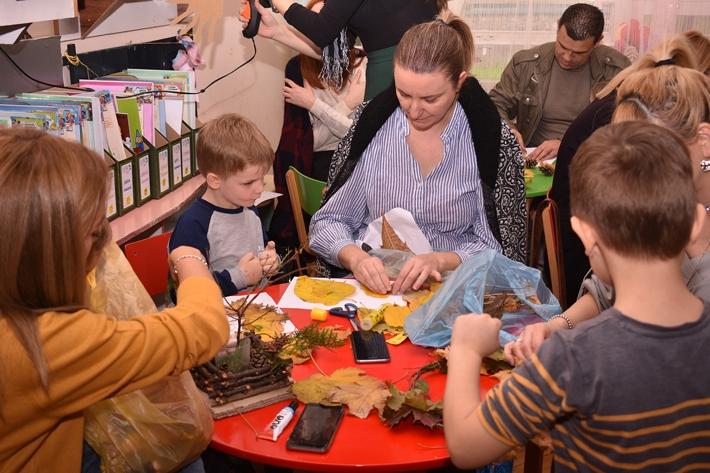Есенска семејно креативна работилница – објект Кокиче